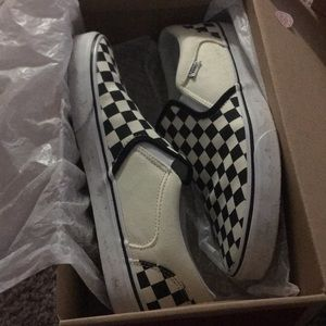 Vans Slip-on Checkers size 9.5